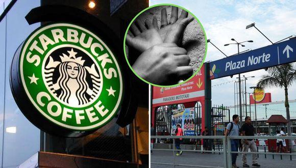 La cafetería Starbucks de Plaza Norte aseguró que colaborará con las investigaciones. (Foto: GEC)