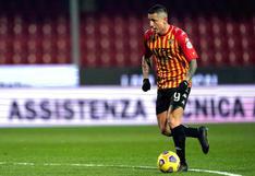 Benevento de Gianluca Lapadula no jugará la Serie A la próxima temporada tras descender