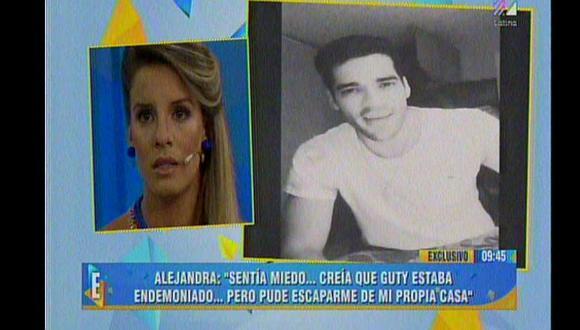 Alejandra Baigorria sobre Guty Carrera: No lo denuncié  por vergüenza y miedo