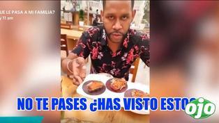 """'Giselo' indignado con los precios del restaurante 'Astrid y Gastón': """"será entrada no más"""""""