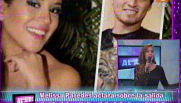 Melissa Paredes dice que no es culpable de salida de Rodrigo Cuba del Aurich