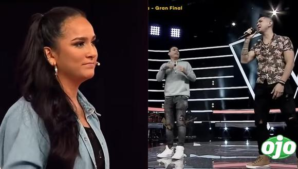 """""""La Voz"""": equipo de Daniela Darcourt olvida la letra de una canción y jurado les da con palo"""
