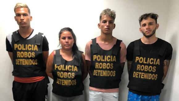 Según la policía 'Los Cafichos de Ceres' se dedicaban a extorsionar a comerciantes, meretrices y transportistas(GEC)