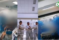Enfermera grabó videos de TikTok con cadáveres y pacientes entubados por Covid-19 en Piura
