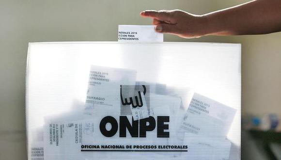 Si bien el voto es obligatorio, debido a la pandemia algunos electores tiene pensado no acudir a las urnas y pagar la multa. (Foto: Andina)