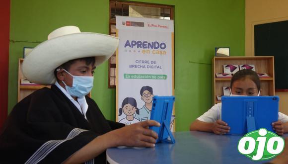 Las tablets serán entregadas a escolares de las zonas más pobres del Perú. (Foto: Minedu)