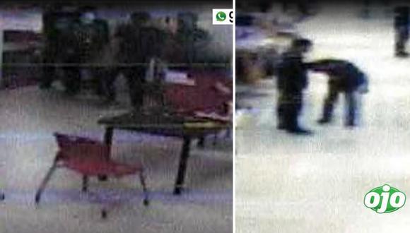 Muerte en Oechsle: difunden nuevas imágenes de intervención a Alex Gensollen en tienda de San Borja
