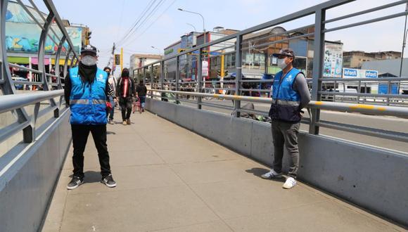 Personal de serenazgo en pandemia (Foto: Andina)