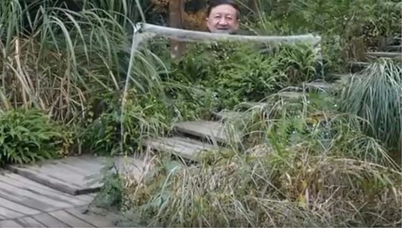 China: 'capa de invisibilidad' vuelve locos a muchos en redes sociales (FOTOS Y VIDEO)