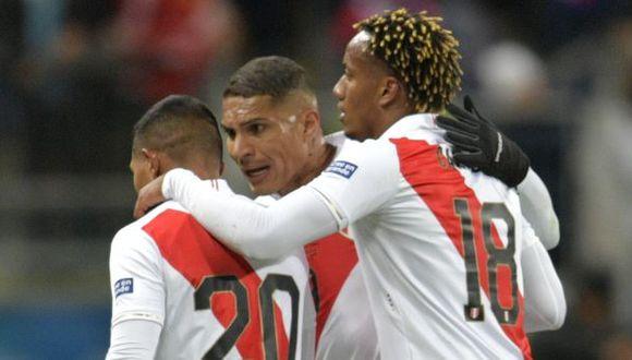 La selección peruana empezará las Eliminatorias con los duelos ante Paraguay y Brasil. (Foto: AFP)