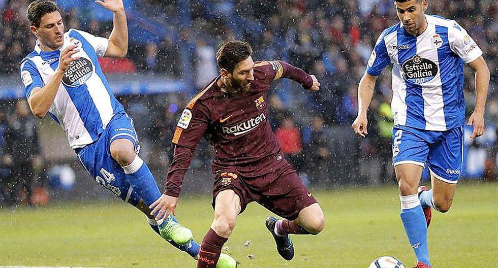 Barcelona, guiada por genial Messi, logra su 25º título de Liga