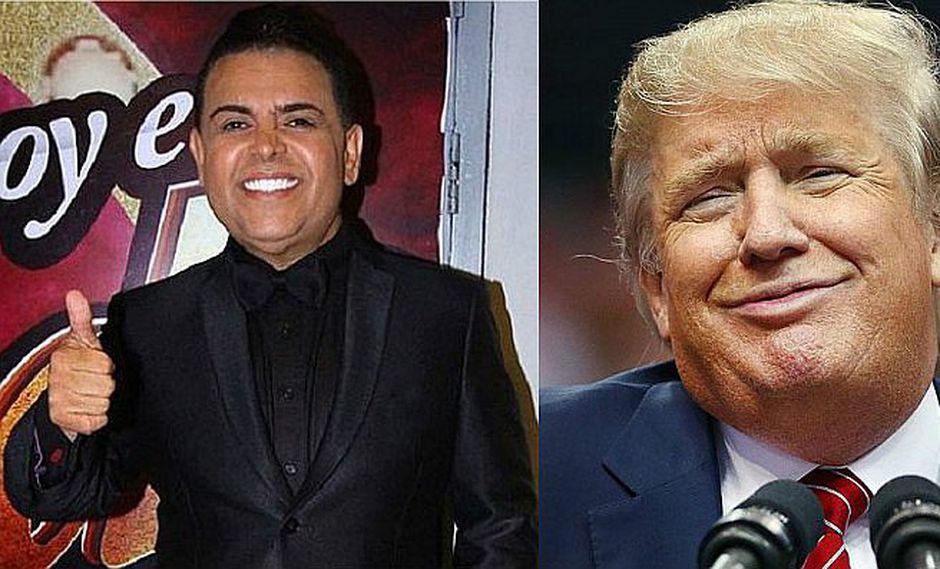 'Chibolín' emocionado con triunfo de Trump y lo demuestra de esta manera