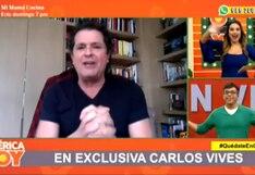 Ethel Pozo hace confesión frente a Carlos Vives: Así fue su reacción al entrevistar al cantante   VIDEO