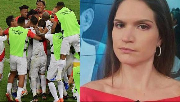 Lorena Álvarez pasó de la ácida crítica en redes a apoyar a la selección peruana