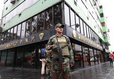 Detienen a 14 efectivos policiales por presuntos vínculos con el tráfico ilícito de drogas