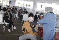 COVID-19: Vacunación de 12 a 17 años se inicia la primera semana de noviembre