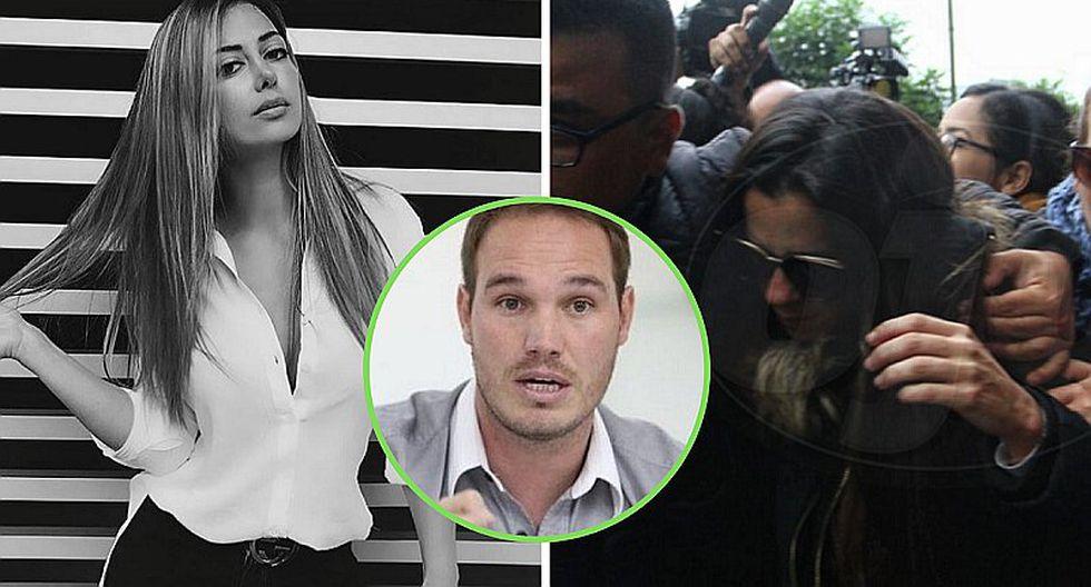¿Qué hace Claudia Ramírez mientras Vanessa Terkes denuncia a George Forsyth? | VIDEOS