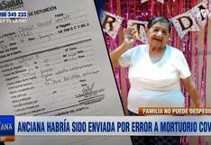 Anciana que falleció por paro cardiorrespiratorio fue enviada por presunto error a mortuorio COVID-19 del hospital Sabogal