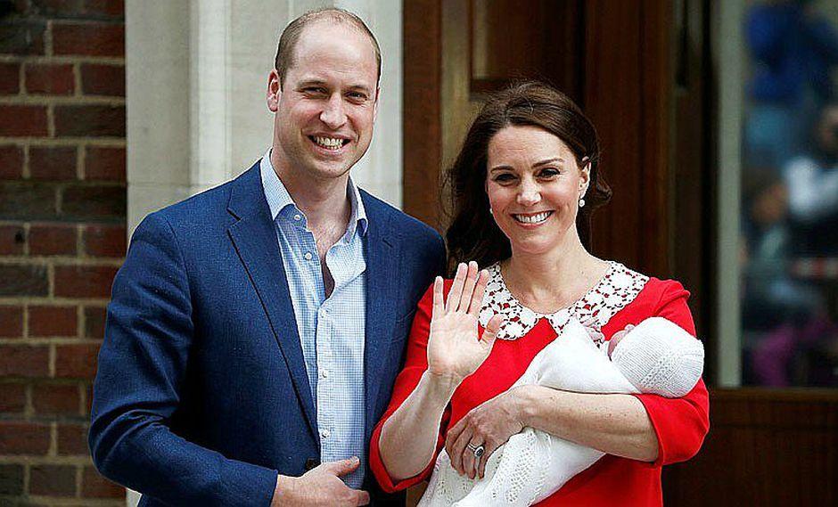 Familia británica difundió fotos del príncipe Luis