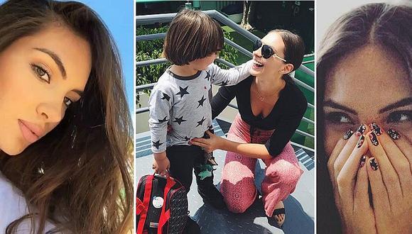 Natalie Vértiz: la tierna reacción de su hijo al verla con brackets (FOTOS)