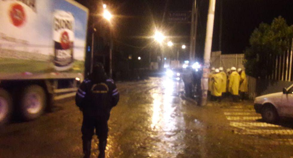 Distrito de Hunter amaneció inundado.