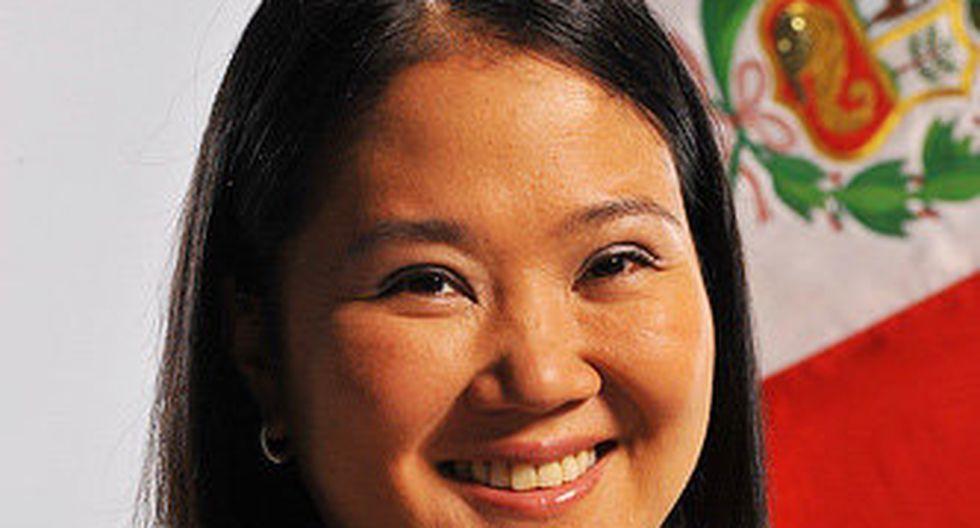 """Keiko: """"Las críticas a mi grupo vocero lo haré internamente"""""""