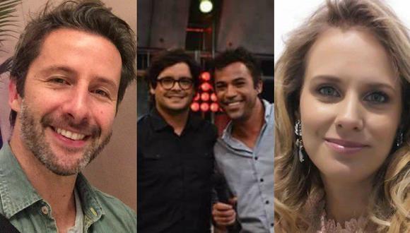 ¡Qué divertido! Renzo, Rossana y Marco se rien de Gian Piero Diaz en Twitter