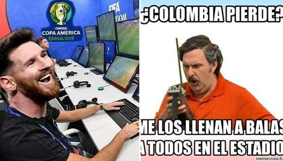 Los divertidos memes tras el triunfo de Chile sobre Colombia en la Copa América│FOTOS