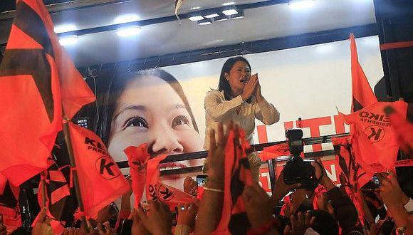 """Elecciones 2016: Keiko Fujimori pide """"prudencia"""" ante los resultados"""