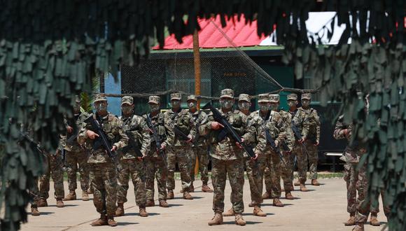 Junín: ministros de Defensa e Interior visitan el Vraem para fortalecer la lucha antiterrorista (Foto: Mindef).