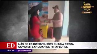 Detienen a más de 20 personas en fiesta clandestina en  San Juan de Miraflores