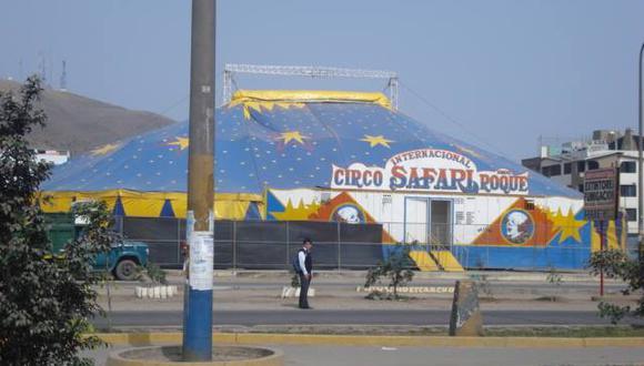 Antes del primer caso por coronavirus, el Circo Safari ya estaba alistando su temporada por Fiestas Patrias.