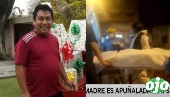 Joel Jesús Fernández Velásquez atacó a su pareja en una casa de Huaycán y la dejó en estado grave. (TV Perú)
