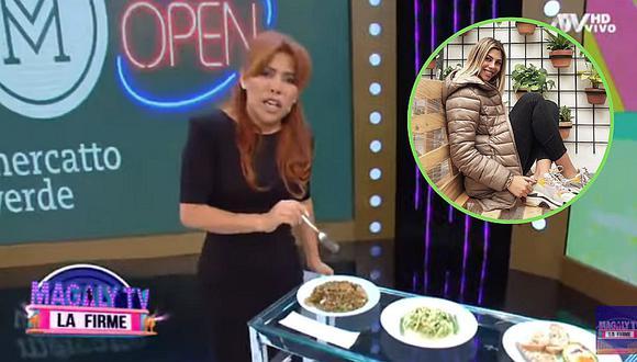 """Magaly Medina """"raja"""" del negocio de Alondra García Miró: """"Qué caros los platos de tu restaurante""""│VIDEO"""