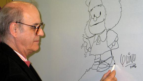 """'Quino', creador de 'Mafalda', dice que ella es """"como un mueble que me salió bien"""" (Fotos)"""