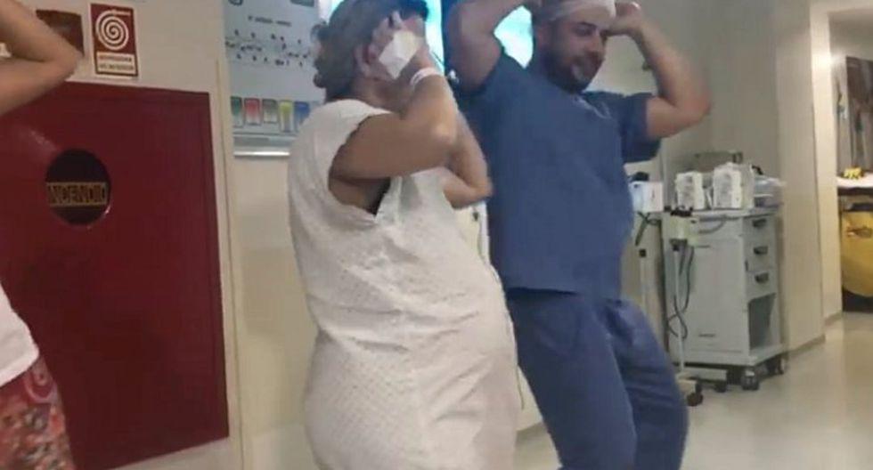 Doctor baila 'Despacito' con sus pacientes embarazadas para ayudarlas en el parto (VIDEO)