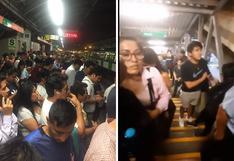 Metro de Lima: usuarios reportan largas colas en la estación La Cultura   FOTOS