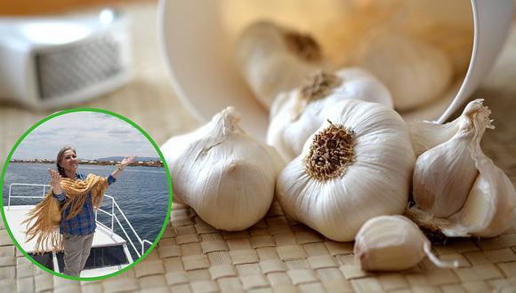 Tres beneficios para la salud que debes conocer del ajo según Jeanette Enmanuel