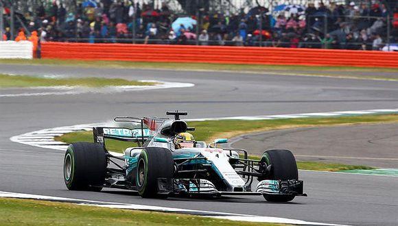 Fórmula 1: Lewis Hamilton saldrá desde la 'pole' en Silverstone