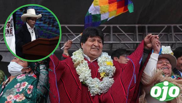 Evo Morales llegó a Perú. (Foto: EFE | GEC).