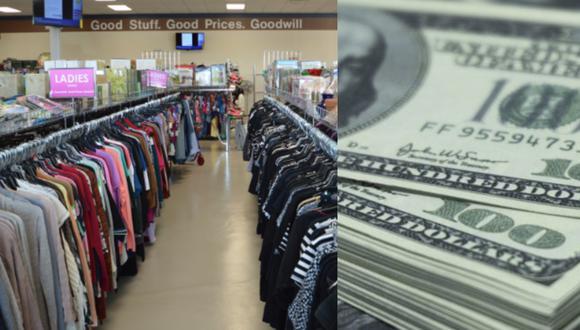 La mujer no se percató que su esposo guardó 5 mil dólares en una casaca vieja y donó la prenda. (Foto: Goodwill/Difusión)