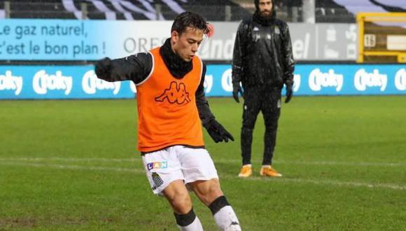 Cristian Benavente jugó por última vez por la selección peruana en un amistoso ante Colombia. (Foto: Royal Charleroi)