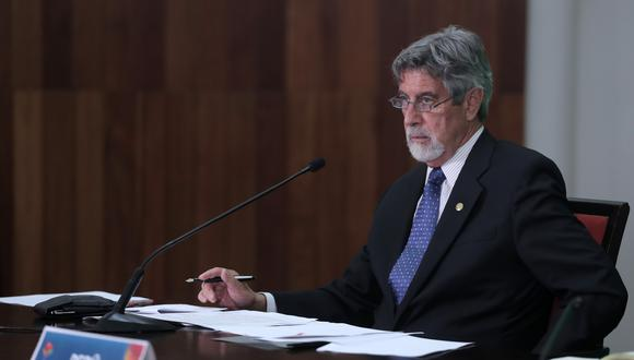 Francisco Sagasti exige al Congreso aprobar lo más pronto posible una nueva ley agraria (Foto: Presidencia de la República)