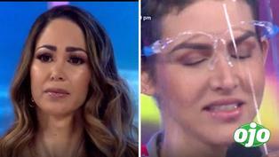 Melissa Loza lloró en vivo al escuchar emotiva canción de Anahí de Cárdenas sobre el cáncer de mama