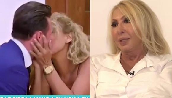 La reacción de Laura Bozzo al ver a su ex Cristian Suárez pidiéndole matrimonio a su novia │VÍDEO