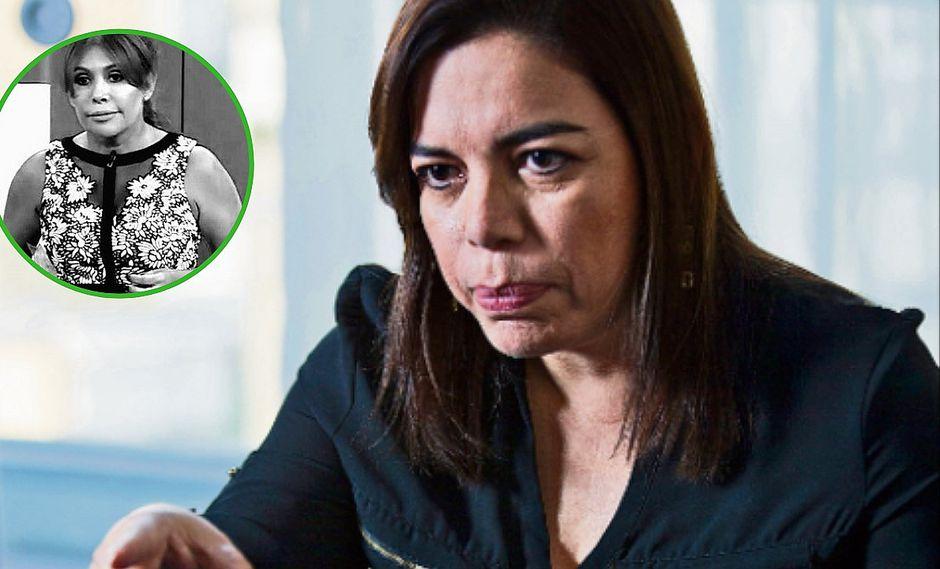 Milagros Leiva regresa mañana a noticiero y desmiente renuncia a ATV
