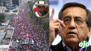 """""""El pueblo tiene derecho a la insurgencia civil"""": Jorge del Castillo lideró marcha contra el Gobierno"""