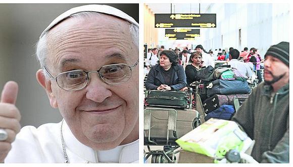 Al menos un millón de extranjeros llegarán al Perú por el Papa Francisco