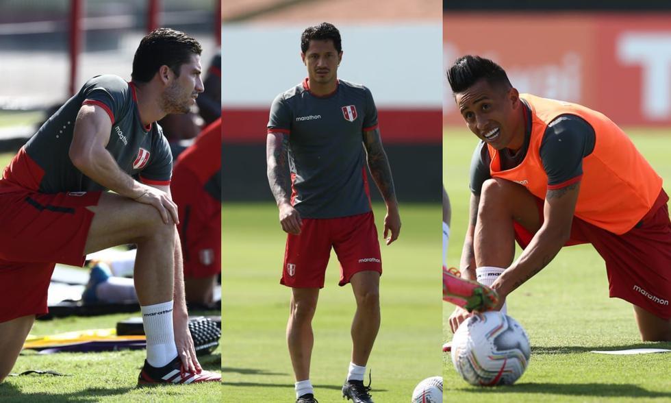 Así fue el entrenamiento de la Selección Peruana.  (Foto: Jesús Saucedo / GEC)