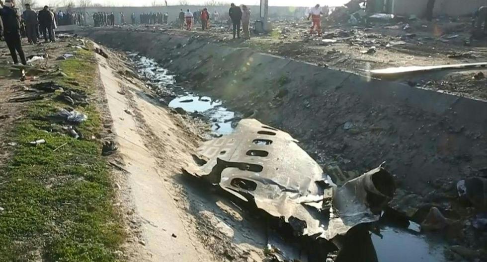 Un avión Boeing 737 de Ukraine International se estrelló en Irán con 176 personas a bordo. (AFP).